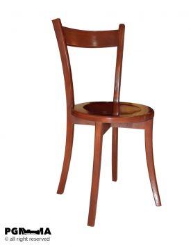 صندلی غذاخوری اپنی کوتاه چوبی