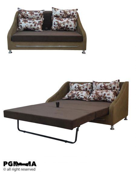 کاناپه تخت شو لیندا-100200201-3-دو-نفره-پی-جی-ما-بازار-مبل-امام-علی