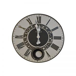 ساعت ديواري کد219 ساعت دیواری - سفید پاندول دار -101300219-شاخص-پی جی ما-بازار-مبل-امام-علی