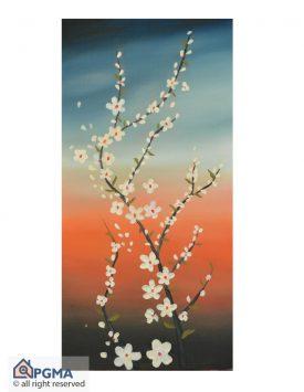 تابلو نقاشی شکوفه