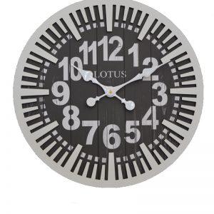 ساعت ديواريMA-3316 ساعت دیواری سبک آمریکایی-101300220فلاور گرد سفید MA-3316 شاخص-پی جی ما-بازار-مبل-امام-علی