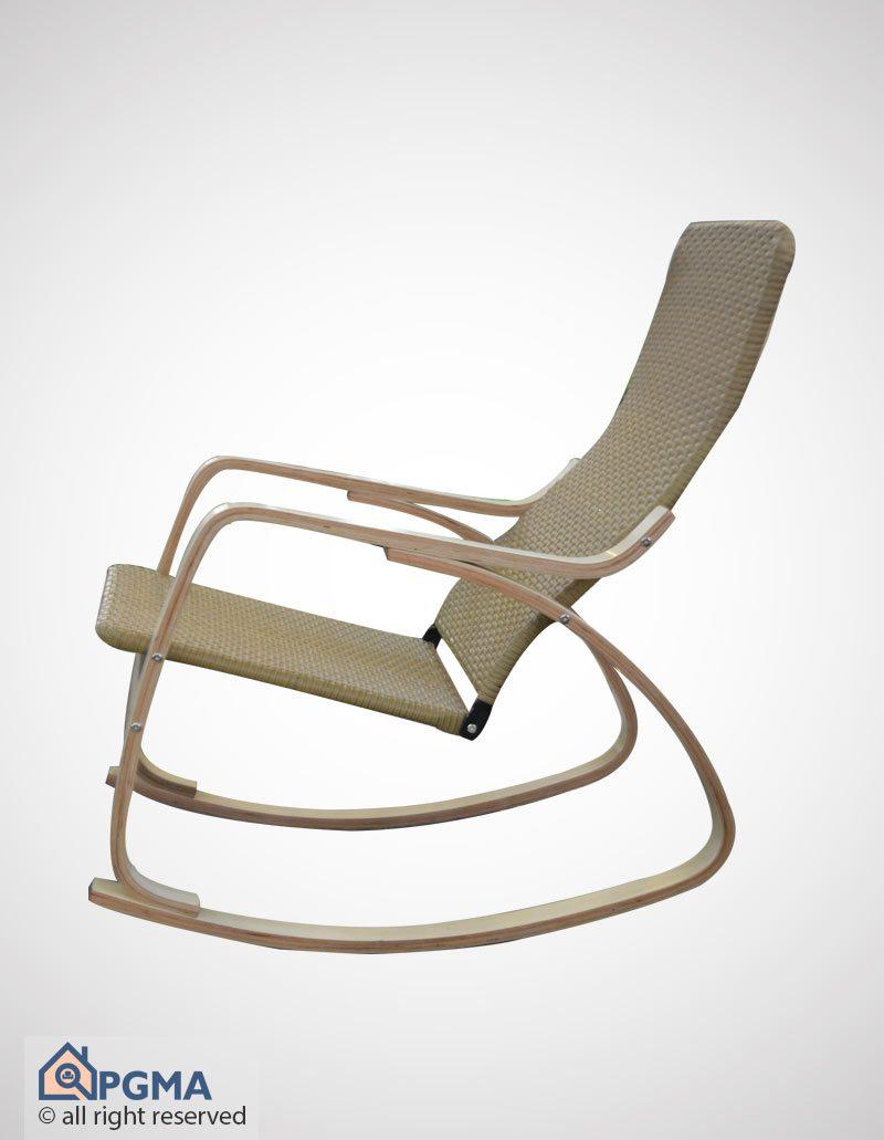 صندلی راک A-1 حصیری کوچک 102000015 پی جی ما