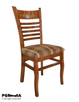 صندلی غذاخوری اتریشی طرحدار 1023001061 1 پی جی ما
