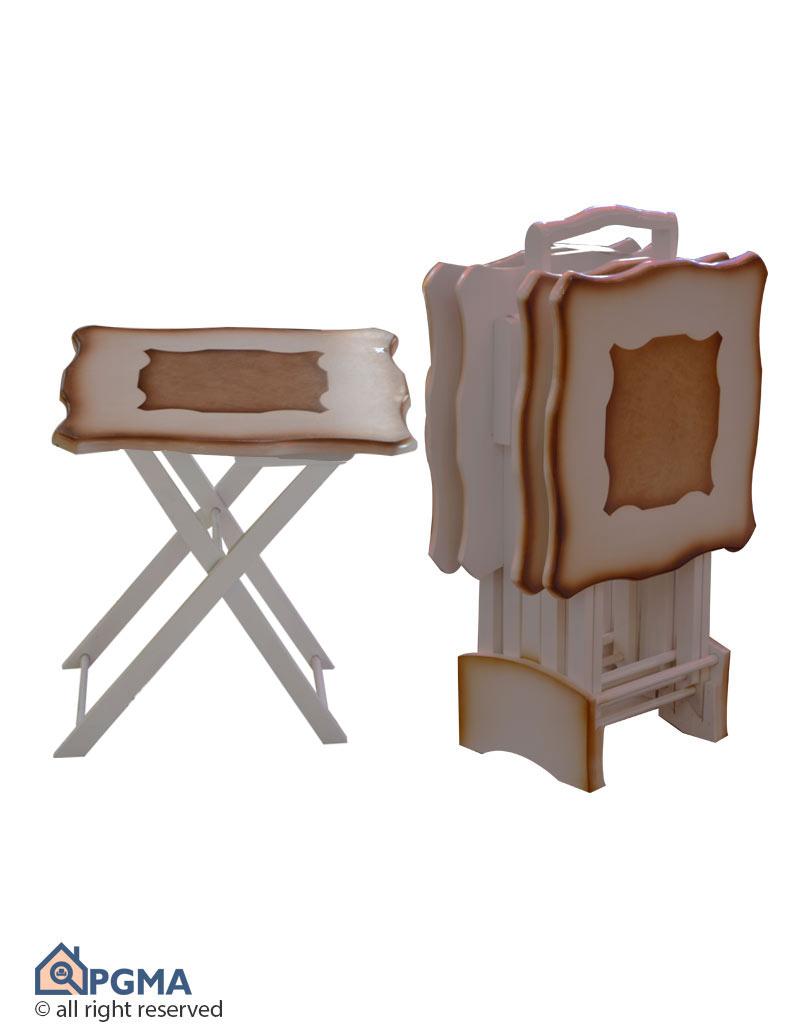 عسلی چمدانی مربع دالبر 1004006514199900 پی جی ما