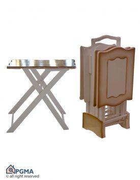 عسلی چمدانی مستطیل دالبر کد2 1004006474199900 پی جی ما