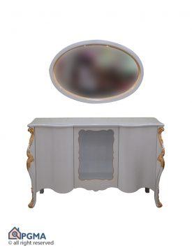 آینه و کنسول خم ویترین دار-102100298--شاخص-پی-جی-ما