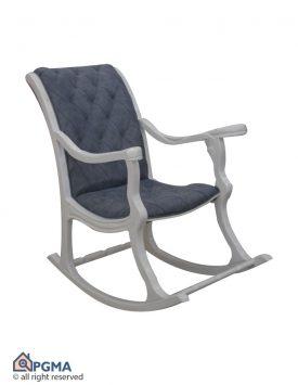 صندلی راک ماندگار سفید 102000047 پی جی ما
